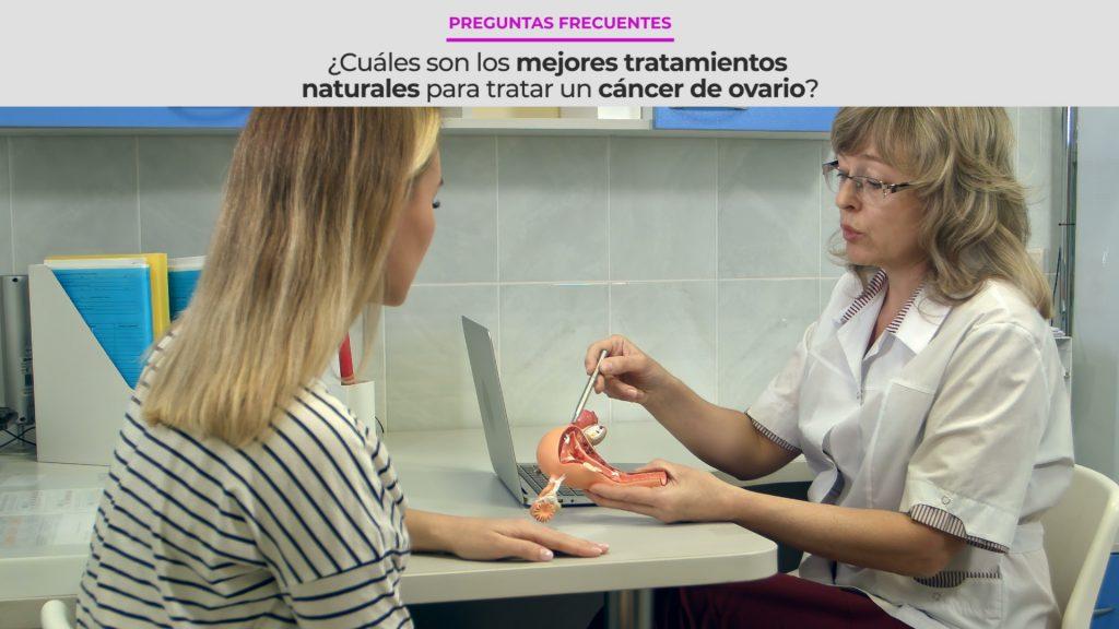 ¿Cuáles son los mejores tratamientos naturales para tratar un Cáncer de Ovarios?