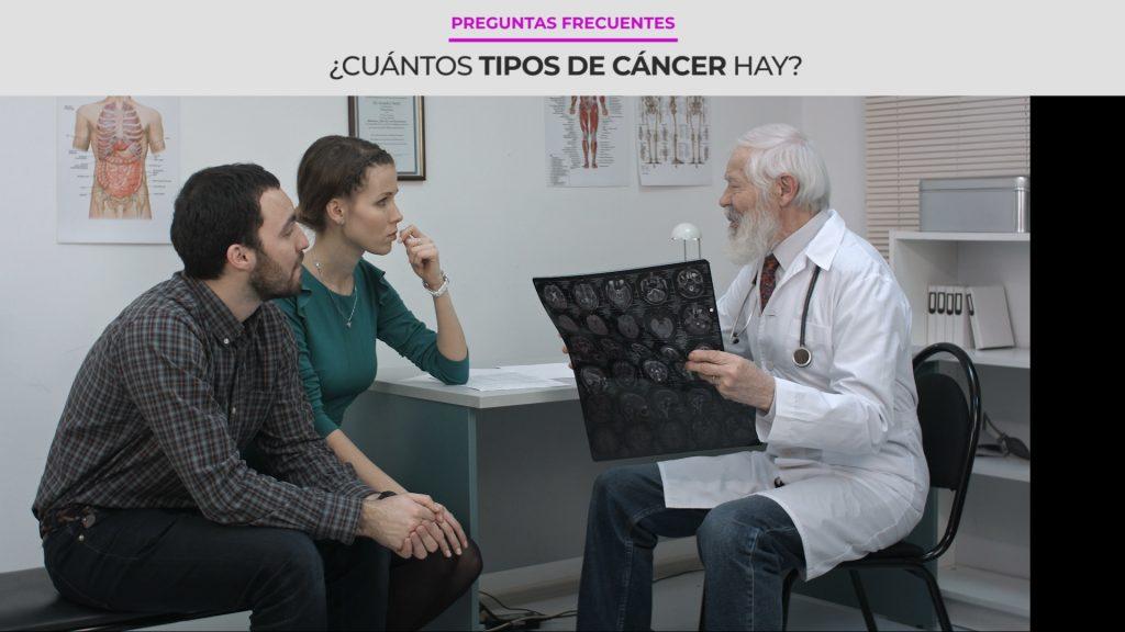 ¿Cuántos tipos de cáncer hay?