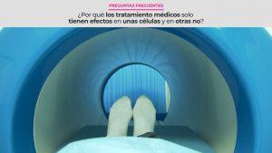 ¿Por qué los tratamiento médicos solo tienen efectos en unas células y en otras no?