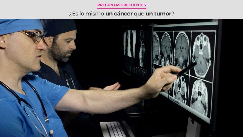 ¿Es lo mismo un cáncer que un tumor?